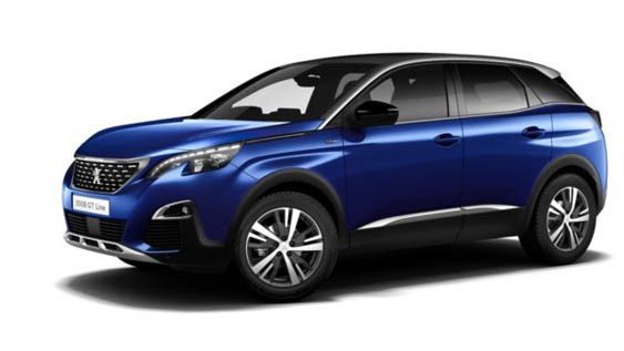 Peugeot 3008 1.6 HDi GT Line