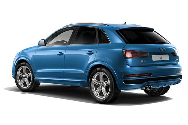 Audi Q3 2.0 TFSi Black edition