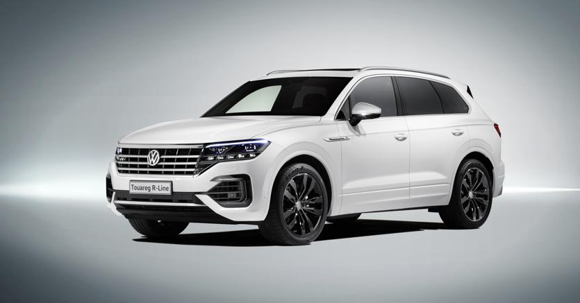 VW Touareg 3.0TDi 286PS R Line TECH